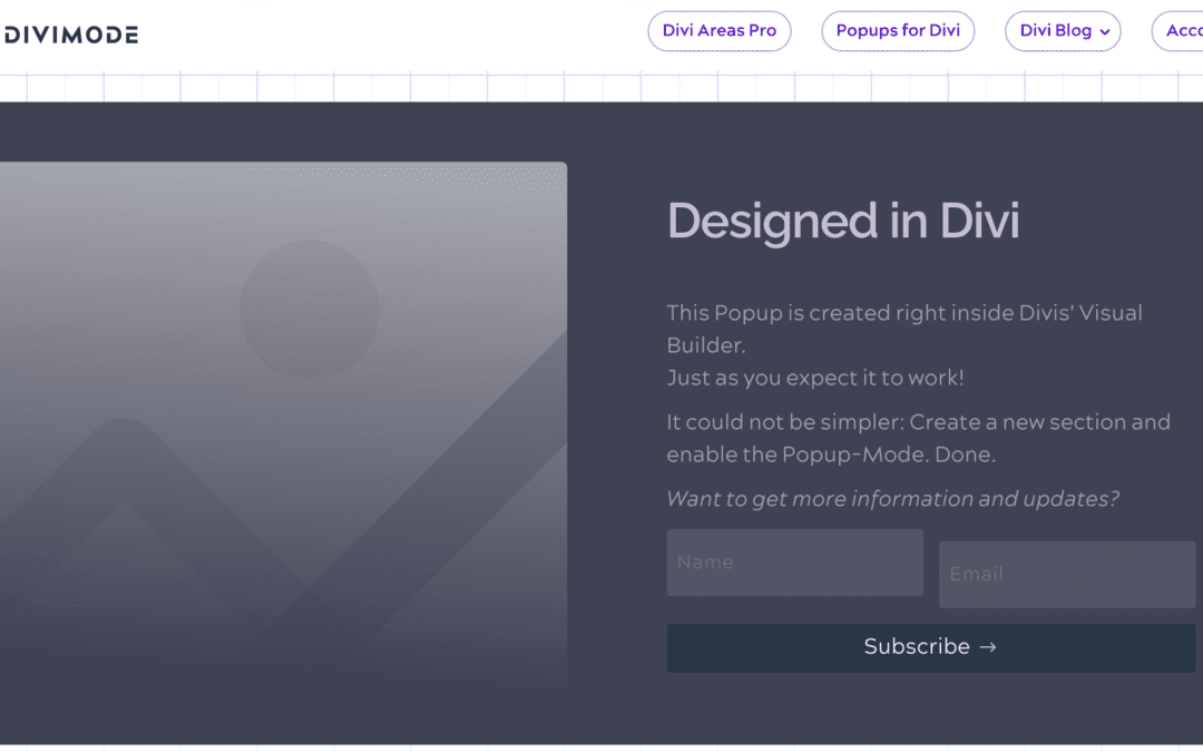 How Popups for Divi can improve your marketing sales funnel