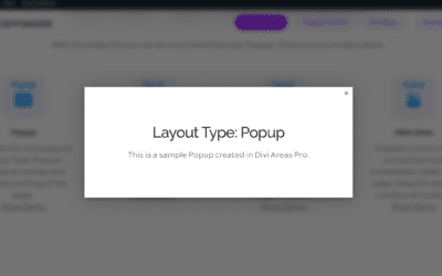 Three elements to create effective Popups